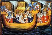 French fleet sail in Crusaders