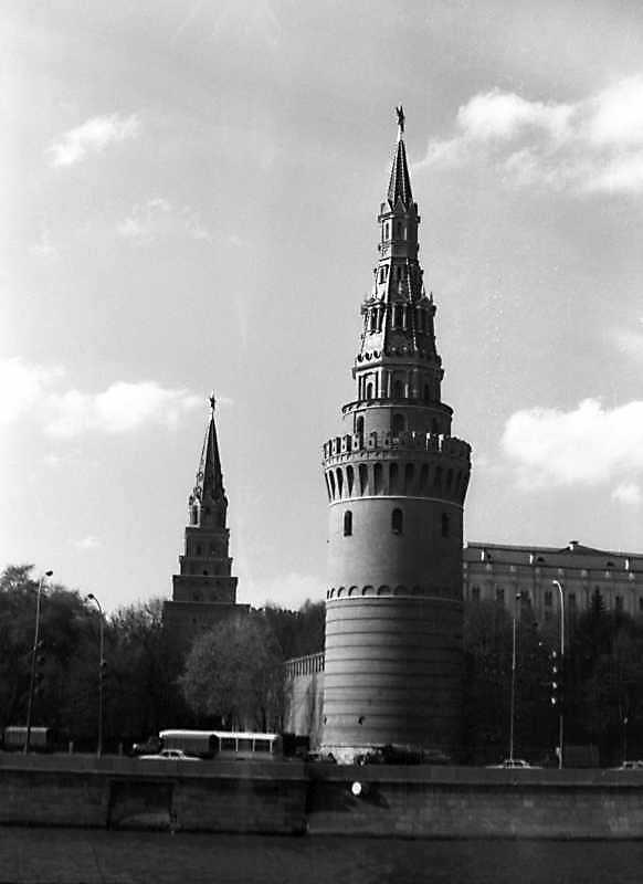 Свіблова башта московського Кремля. Фото 7 травня 1979 р.