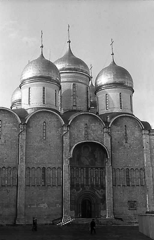 Успенський собор московського Кремля. Фото 31 серпня 1981 р.