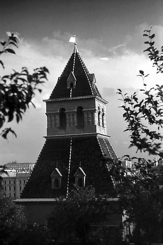 Верхня частина першої безіменної башти московського Кремля. Фото 31 серпня 1981 р.