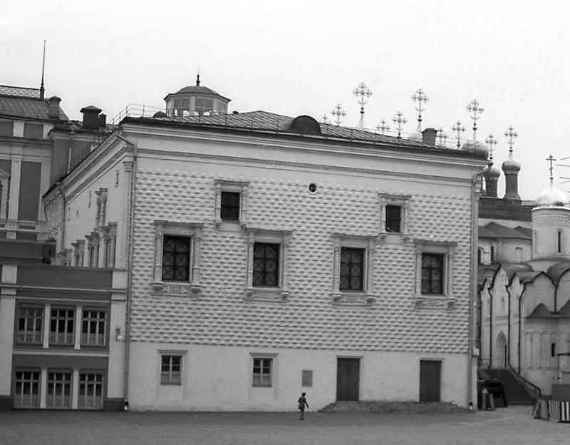 Грановіта палата у московському Кремлі. Фото 6 вересня 1976 р.