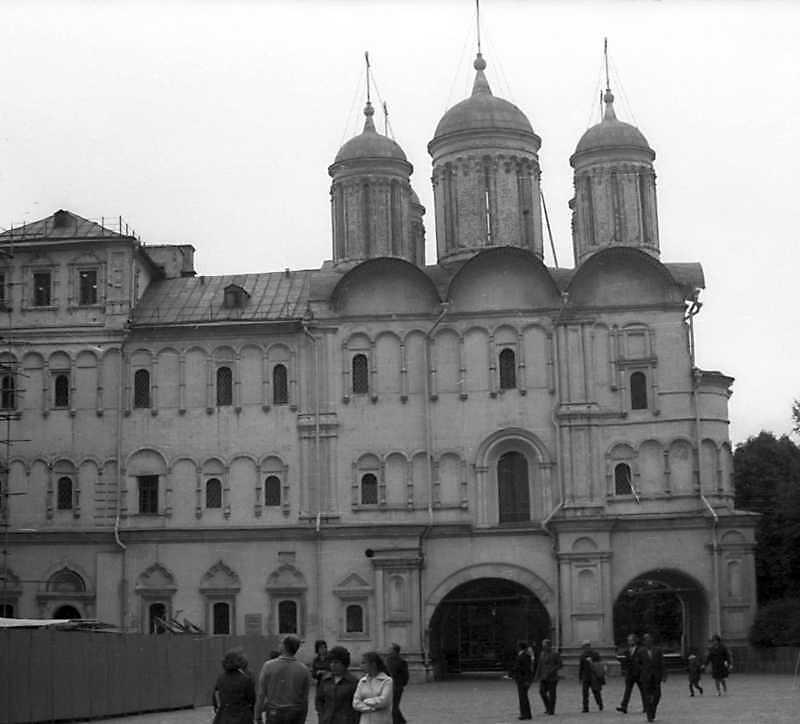 Собор 12 апостолів у московському Кремлі. Фото 6 вересня 1976 р.