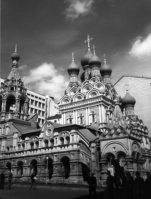 Церква Трійці в Никитниках (Москва). Вигляд із заходу. Фото 6 травня 1979 р.