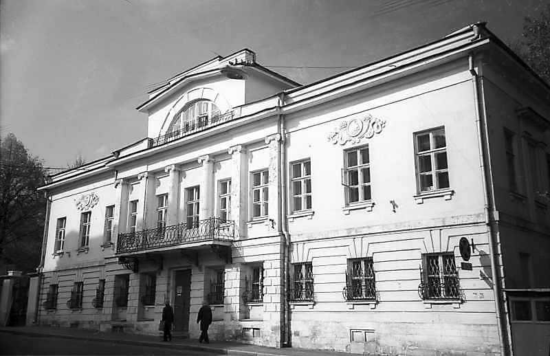 Будинок Верстовського в Антипіївському провулку (Москва). Фото 6 травня 1979 р.