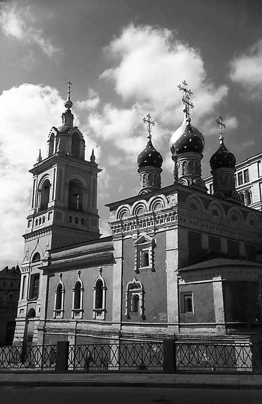 Церква св.Георгія на Псковській горі (в московському Зарядді). Фото 7 травня 1979 р.