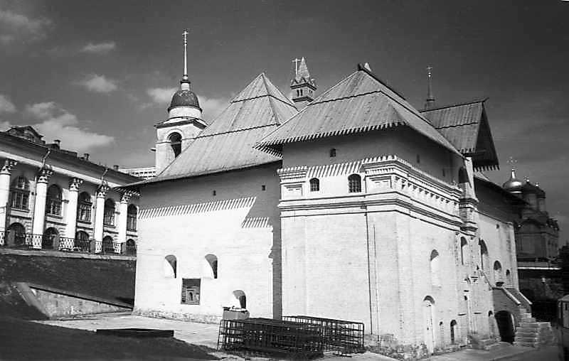 Старий Англійський двір у Москві. Фото 7 травня 1979 р.