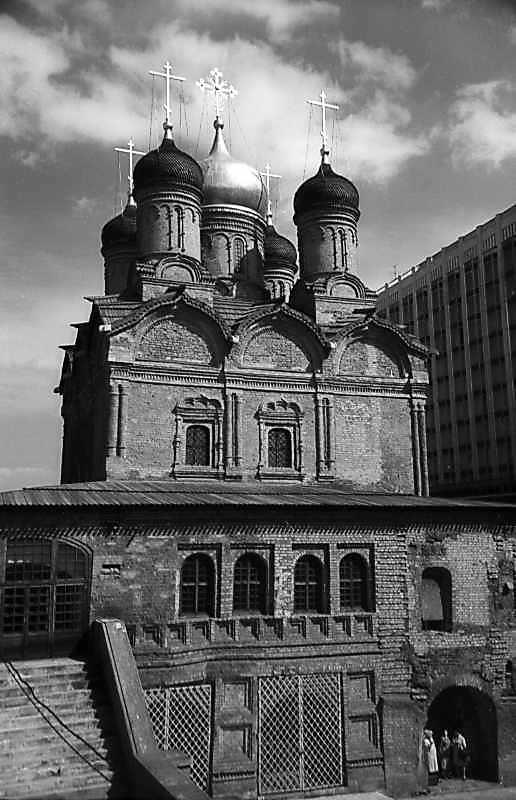 Собор Знаменського монастиря в Москві. Фото 7 травня 1979 р.