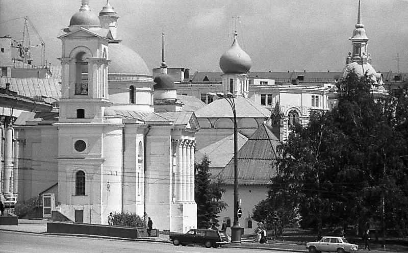 Загальний вигляд московського Заряддя із заходу. Фото 16 липня 1986 р.