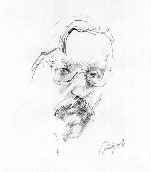 Н. И. Жарких, рисунок 1990 г.