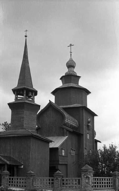 St. John the Divine church at Ishnja in Rostov. Photo 22 Aug 1976.