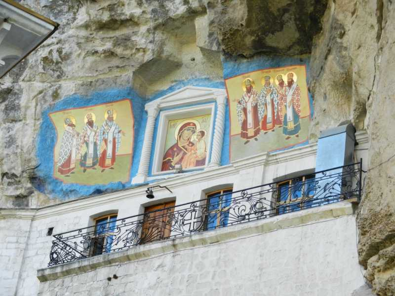The appearance of the Assumption Church in the monastery near Bakhchisarai 30 April 2012, after 21 years of independence of Ukraine.